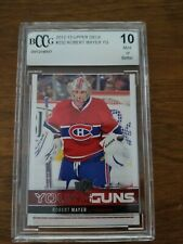 Graded 2012-13 UD YG Robert Mayer