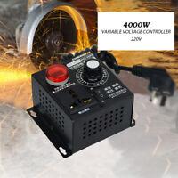 AC SCR Motor Drehzahlregler Modul 4000W Spannungsregler Dimmer Thermostat 220V