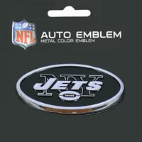New York Jets Heavy Duty Metal 3-D Color Auto Emblem