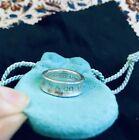 TIFFANY&Co. Ring 1837 Silver 925 Women 1997 # US size 6.0