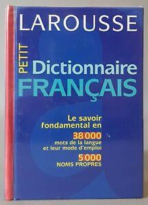 """"""" Petit Dictionnaire Français """", Larousse - Bordas, 1998. TBE. Langues."""