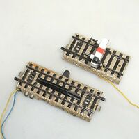 Märklin 5112 + 5129 Elektrischer Entkuppler + Prellbock beleuchtet geprüft (1)