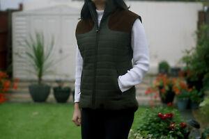 Milano Ladies Tweed Mix Gilet for Walking,Shooting,Out Door Vest