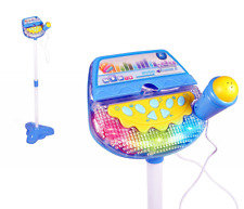 Rock Star Kids Karaoke Machine Sing Along Stand Up Microphone Baby Toy Play Set