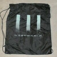 Westworld Reusable Nylon Drawstring Backpack Bag HBO Comic Con