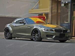 """Fender flaresfor BMW Z4 CONCAVEwide body wheel arches E85 E86 E89 2.75"""" 4pcs"""