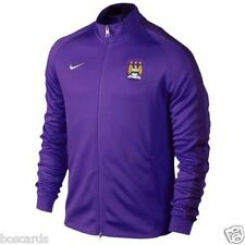 NIKE MANCHESTER CITY MCFC FULL ZIP TRACK JACKET PURPLE XL 607720 547 WE ARE CITY