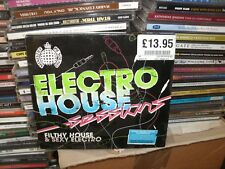 ELECTRO HOUSE SESSIONS,FILTHY HOUSE AND SEXY ELECTRO,2CDS 40 TRACKS