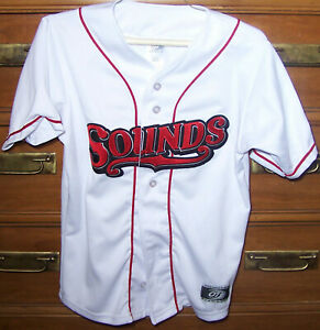 Nashville Sounds Baseball Jersey Youth M