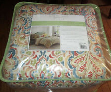 Under The Canopy Queen Comforter Set 4Pcs Moroccan Spice blue orange red
