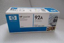 HP 92A Black Toner Cartridge 2.5K-Page Yield LaserJet 1100 3200 3220 C4092A NEW