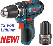 "Bosch PS31 12 Volt 12V 2-Speed Li-Ion Cordless 3/8"" Drill Driver + BAT414 2.0Ah"