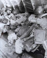 6x4 Photo ww118A Normandy USA Paratroopers 101st Air 501st Pir Hq Krochka Al