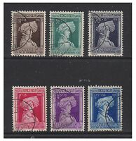 Luxembourg - 1936 Child Welfare set - G/U - SG 353/8