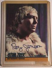 More details for star trek original series autograph roy jenson as (cloud william) a57 mint