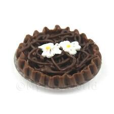 Miniatura Para Casa De Muñecas BELGA Chocolate tarta