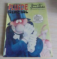 BD BANDE DESSINEE MENSUEL FLUIDE GLACIAL N° 84 EO JUIN 1983