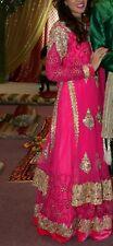 Pink Dress Indian Pakistani Wedding Size 10