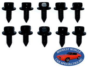 GM Body Fender Grille Trunk Frame Factory Correct 5/16-18 Bolt Bolts 10pcs E