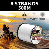Japanese PE Fishing Line 8 Strands Strong Braided PE Braid Fishing Line 6-300LB