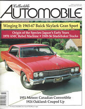 Collectible Automobile Magazine Month Year Vol 18 - No 5