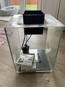 Fluval Chi 19L Fish Tank with LED Light,Filter Cube