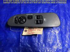 OEM 01 2002 2003 DODGE DAKOTA 2 DOOR DRIVER LEFT MASTER WINDOW SWITCH 211210-108