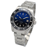 Aquacy 1769 Hei Matau Men's Automatic 300M Blue Dive Watch ETA SWISS MOVEMENT