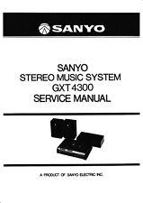 Service Manual-Anleitung für Sanyo M 4500 KE