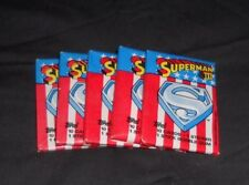 1983 Topps Superman 3 Wax Pack  5 Pack Lot   SEE  Batman vs Superman now