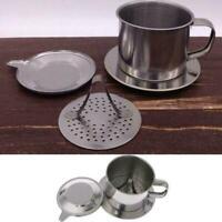 Edelstahl Vietnam Vietnamesisch Kaffee Einfache Maker Infuser S4S0