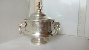 1594 very RRR Imperial Russian Norblin Warsaw Poland drip stop or sugar bowl