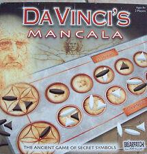 Da Vinci's MANCALA  Board Game