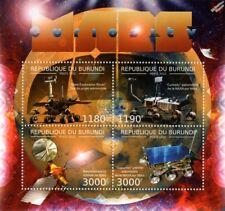 NASA MARS CURIOSITY Exploration Rover Vehicle Space Stamp Sheet (2012 Burundi)