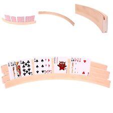 4x Großer Kartenhalter aus Holz 50cm Spielkartenhalter für Kinder und Senioren