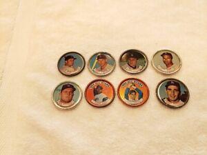 VINTAGE Los Angeles Dodgers 1964 Topps Coin Team Set, Sandy Koufax, Don Drysdale