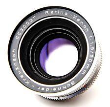 Schneider-Kreuznach Retina-Xenon 1:1.9 50mm (made in Germany)