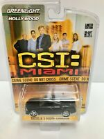 Greenlight TV Show Forensics CSI:Maimi Die-Cast 1:64 Scale Model Car New