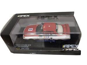 1:43 NISSAN SKYLINE GT-R  #1 JIM RICHARDS WINNER 1991 ATCC
