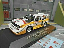 AUDI S1 E2 Quattro Sport Rallye Monte Carlo WM 1986 #2 Röhrl IXO + HB IXO 1:43
