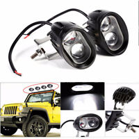 2Pc 20w Car spotlight led Work Lights waterproof searchlight high power bulbs