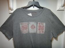 Lucky Brand  Mens T-Shirt Filius Fortunal Color Gray Size XLG
