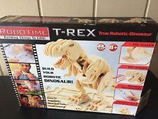 Robotime Robotic 3D Wood Puzzle T Rex Dinosaur