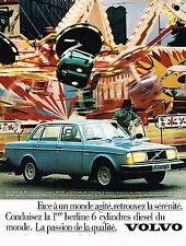 PUBLICITE ADVERTISING 045  1979  VOLVO 244 GL  D6