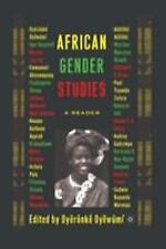 African Gender Studies: A Reader, , Very Good Books