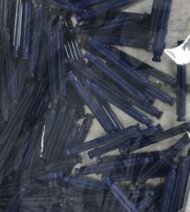 """100 KNEX BLUE RODS 2 1/4"""" Bulk Standard Replacement 2.25"""" Parts/Pieces Lot"""