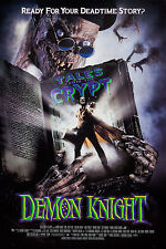 TALES FROM THE CRYPT PRESENTS DEMON KNIGHT - ORIGINAL MINI MOVIE POSTER - ROLLED