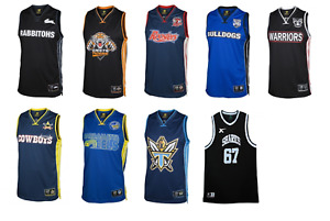 NRL Classic NBA Style Basketball Rugby League Jersey/Singlet Gift Memorabilia