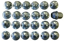 24 FACTORY FORD LUG NUTS 14mm x 1.5mm 15-19 F150 PICKUP TRUCK OEM CHROME EXPOSED