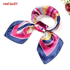 Women Small Square Spring Twill bandana silk scarf square Kerchief Bandana BC21